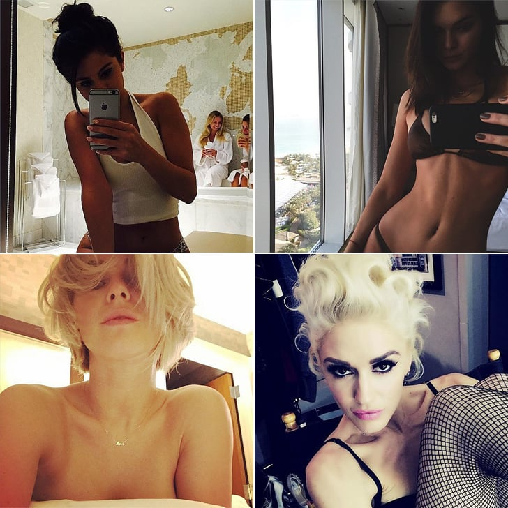 The Sexiest Female Celebrity Selfies | Pictures