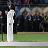 Demi Lovato Singing the National Anthem at the 2020 Super Bowl