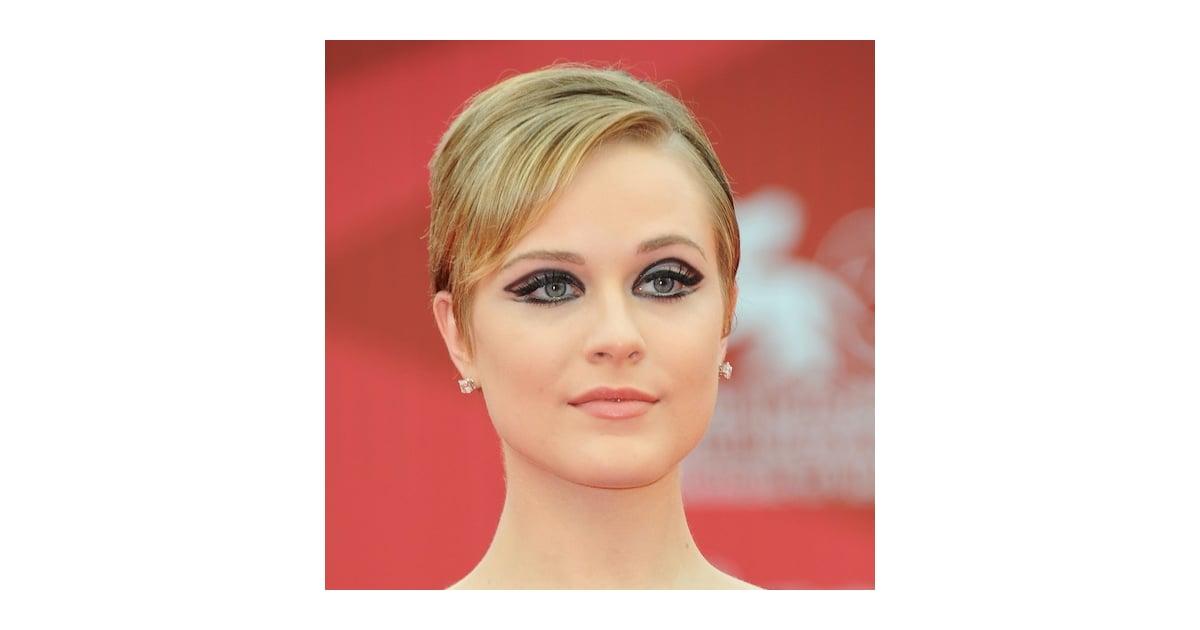 Evan Rachel Woods Mod Eye Makeup Popsugar Beauty Australia