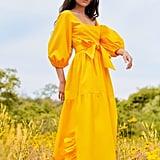 Enid Ruffle Dress ($350)