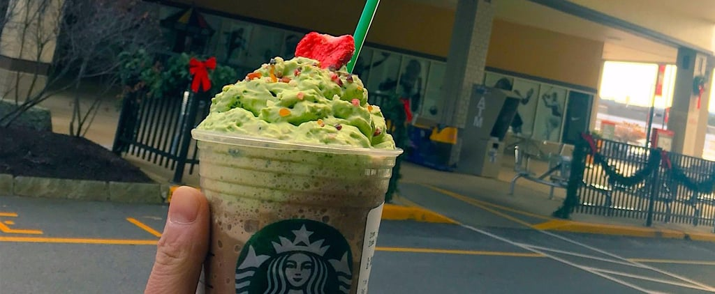 Is Starbucks's Christmas Tree Frapp as Tasty as It Looks? Let's Investigate