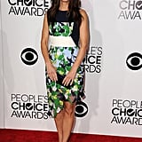 Sandra Bullock was the belle of the ball as she arrived for the PCAs.
