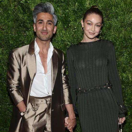 Tan France Gets Baby Advice From Gigi Hadid and Emma Stone
