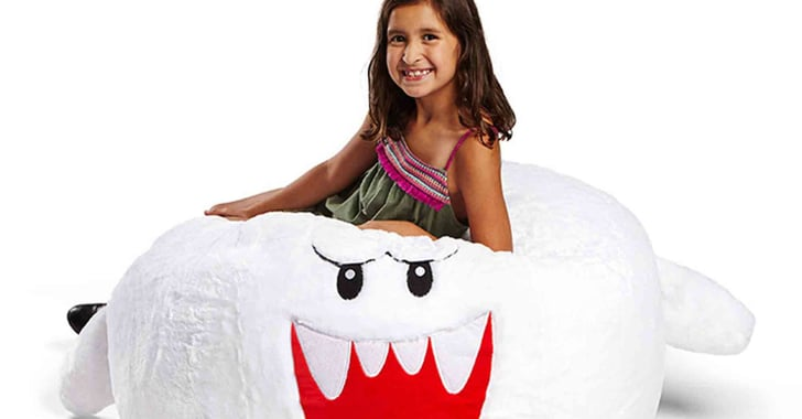 This Cozy Boo Bean Bag Will Transport You to Those Nintendo-Playing Days in No T...