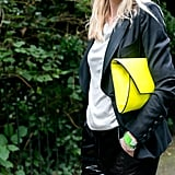 This clutch has the power to brighten up just about any look.