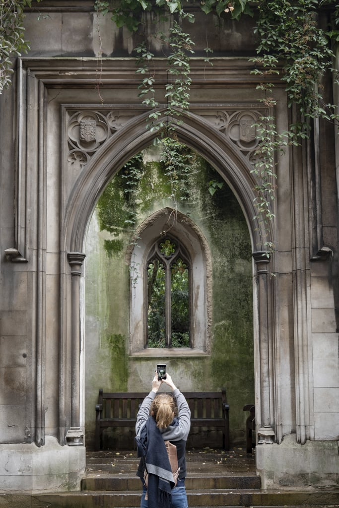 The Ruins of St. Dunstan in the East (Central London)