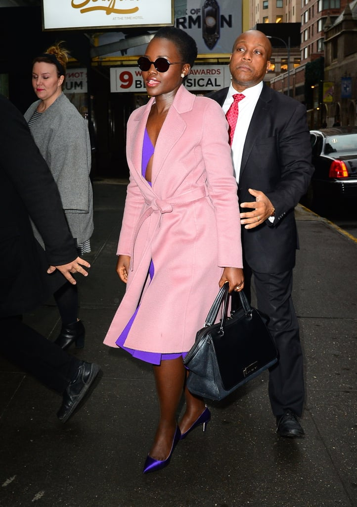 Lupita Nyong'o Out in NYC February 2016 | Pictures