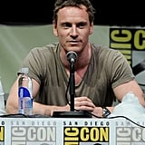 Michael Fassbender attended the panel for X-Men: Days of Future Past.