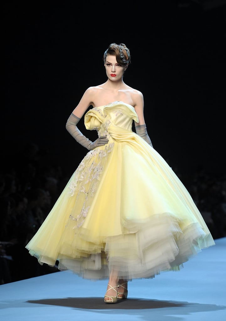 Dior Spring Summer Dresses Yellow