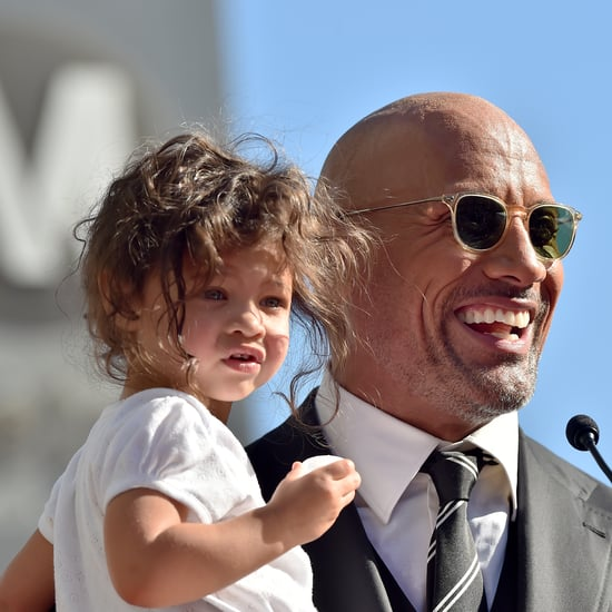 """Dwayne """"The Rock"""" Johnson's Cutest Photos With Daughters"""