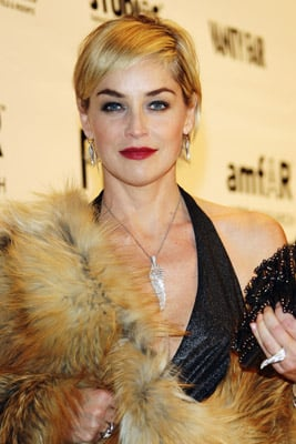 Love It or Hate It? Sharon Stone Is Red in Rome