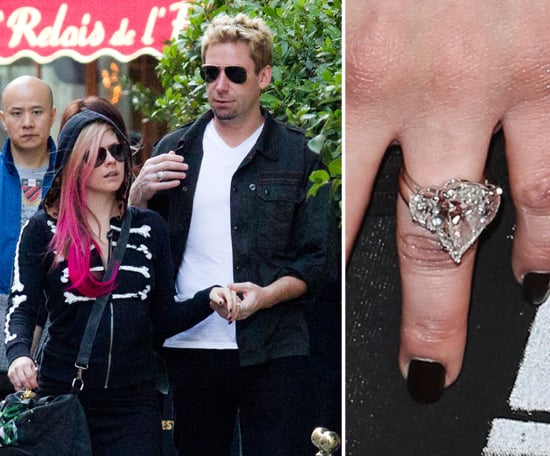 Chad Kroeger Proposed To Avril Lavigne In August With A 14 Carat Diamond.