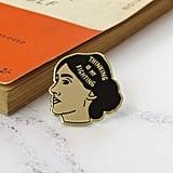Virginia Woolf Enamel Pin