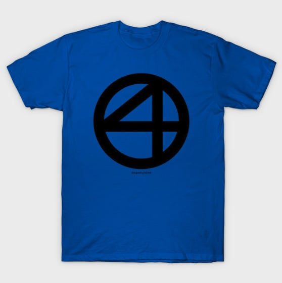 Fantastic Four Logo T-Shirt