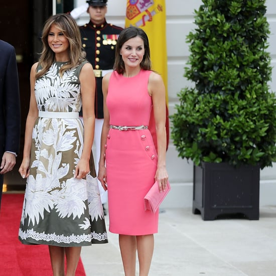 Melania Trump Valentino Dress 2018