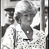 "Princess Diana Showed Off Her ""William"" Necklace in 1983"