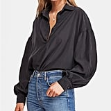 Free People Love Until Tomorrow Pullover Shirt