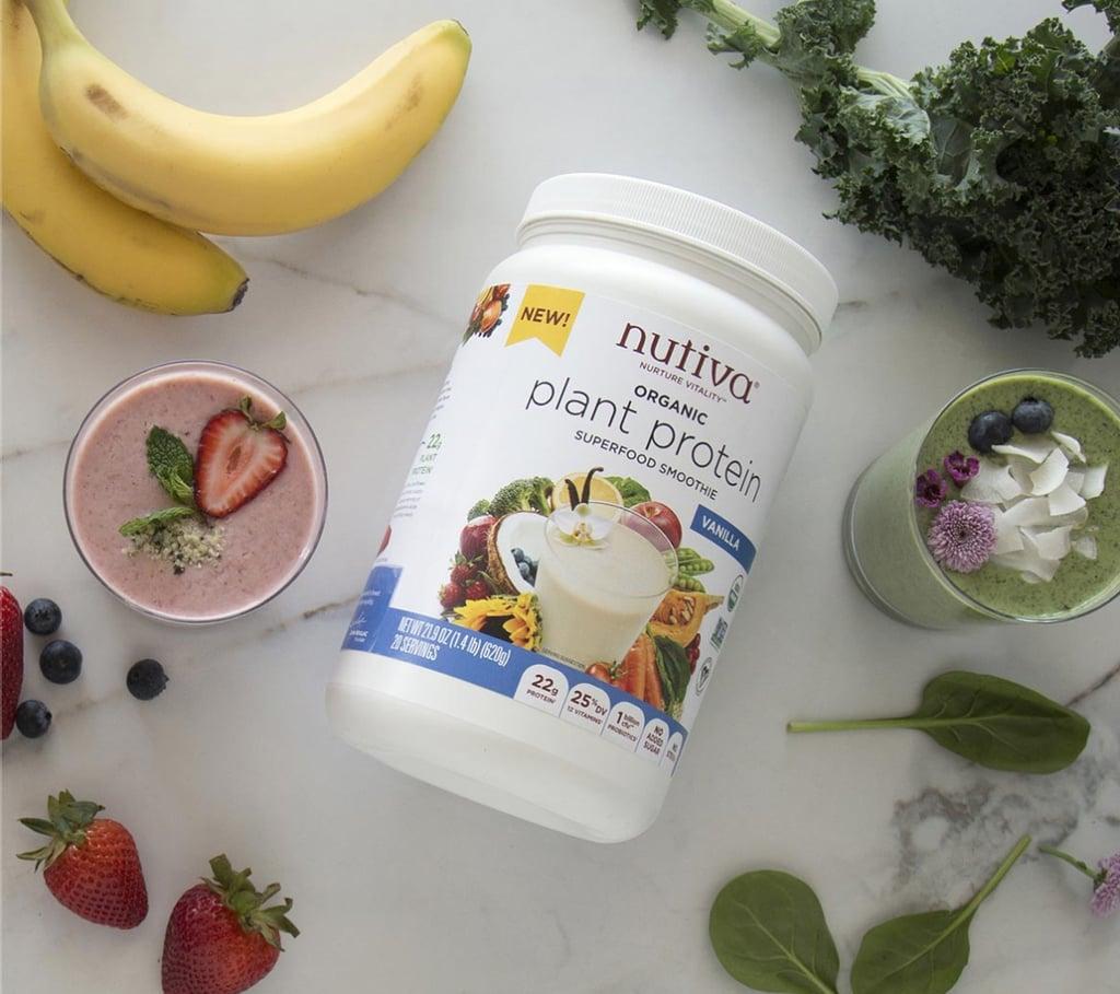 Nutiva Vanilla Plant Protein Powder
