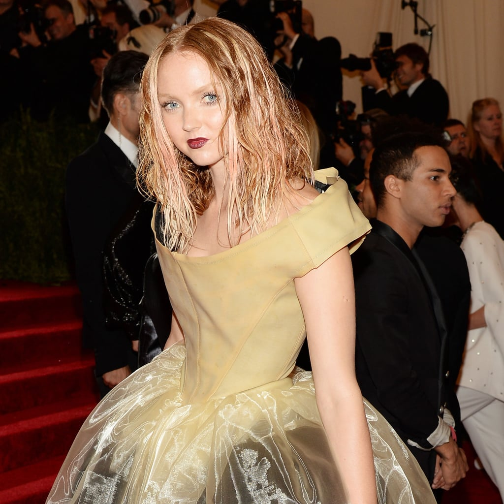 Lily Cole Met Gala Interview