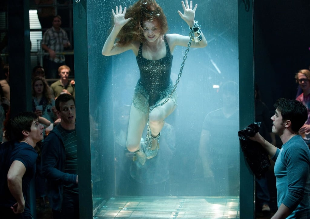 Isla Fisher as Henley On the heels of The Great Gatsby, it'll be fun to see Isla Fisher's bad-girl side as a bank-robbing magician in Now You See Me.