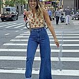 Asymmetrical Jeans Trend 2019