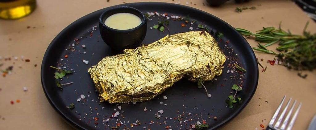 مطعم Prime68 يُقدم شرائح لحم مغطاة بالذهب بسعر رخيص
