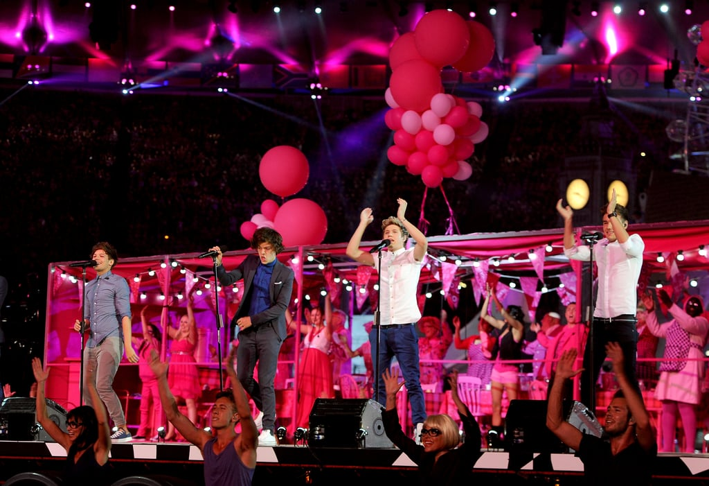 One Direction Excite the Crowd at Olympics Closing Ceremony!