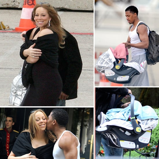 Mariah Carey Twins Pictures Leaving Paris