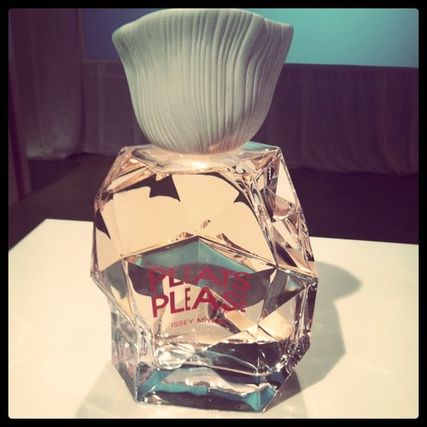 Sarah went to the launch of Issey Miyake's new fragrance, Pleats Please.