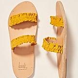 Beek x Anthropologie Dipper Slide Sandals