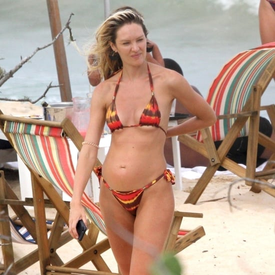 Candice Swanepoel Wearing Bikini in Brazil