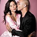 Olivier Rousteing and Sara Sampaio Shared a Cute Moment