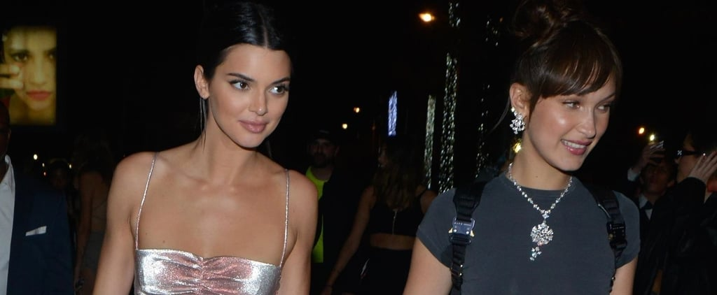Kendall Jenner and Bella Hadid's Outfits Magnum Beach Party
