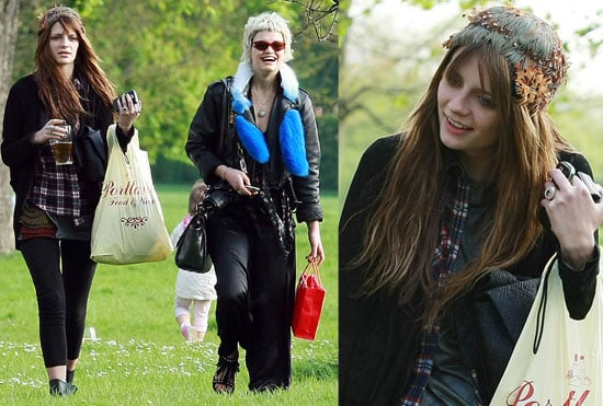 Photos Of Mischa Barton and Pixie Geldof Out In The Summer Sun In London, Following Mischa's Naked Photoshoot For Cosmopolitan