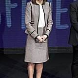 Letizia in Hugo Boss, March 2018