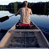 Go canoeing.