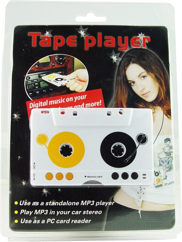 Incognito Cassette Tape MP3 Player