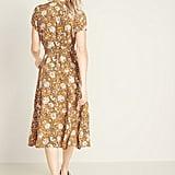 Old Navy Wrap-Front Midi Dress