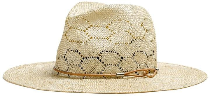 Rag & Bone Straw Wide Brim Fedora ($225)