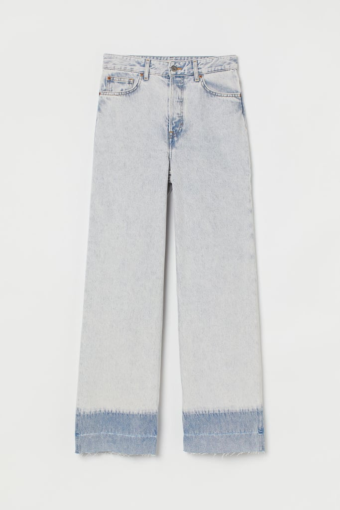 Wide High Ankle Jeans