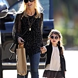 Sarah Michelle Gellar and Charlotte Prinze rocked matching sunglasses during their LA outing on Friday.