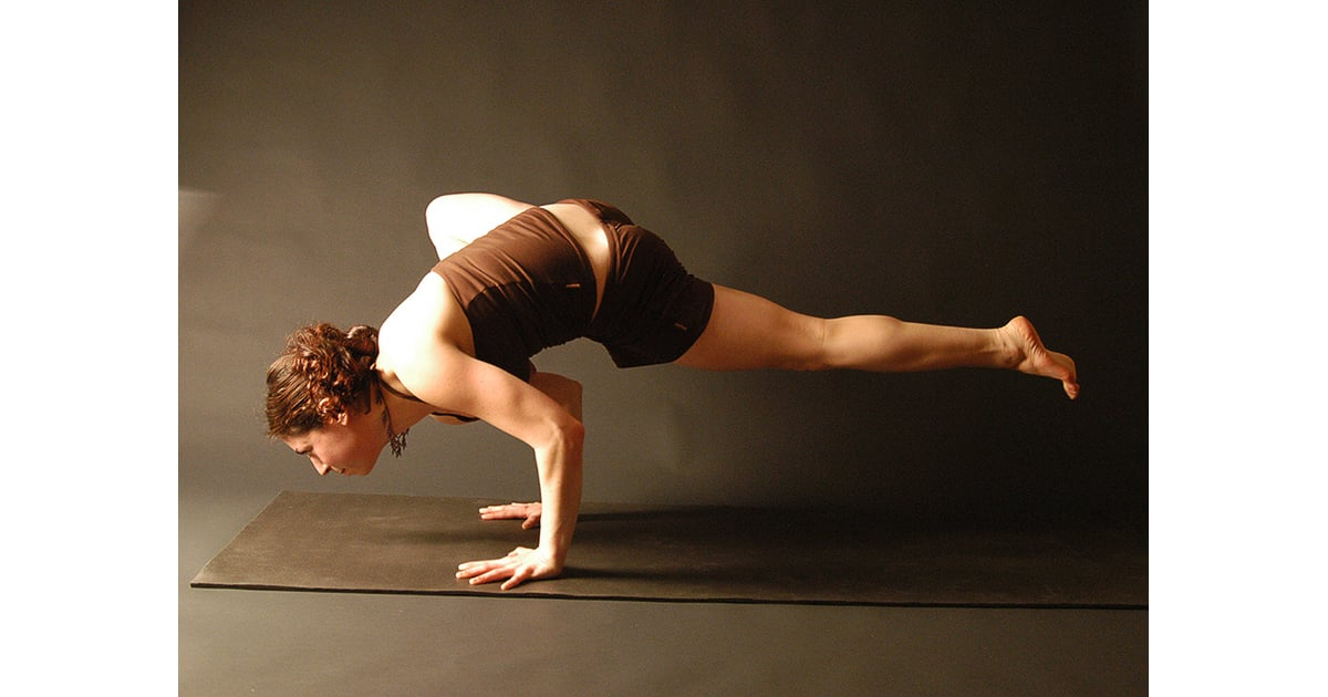 Standing Flying Crow Advanced Yoga Poses Pictures