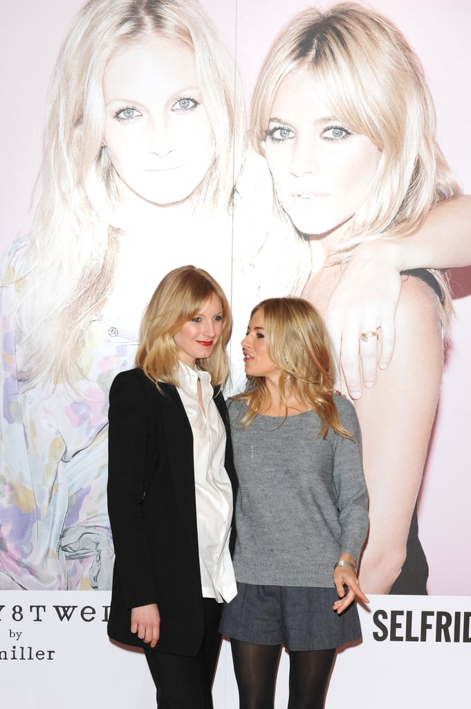 Sienna Hits the Theater Then Joins Savannah For a Fashion Launch