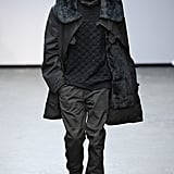 Source: Getty/CatwalkingWith Maharishi, Baartmans & Siegel and YMC all presenting collections embodying performance wear focused designs, from luxe lounge pants teamed with button downs and brogues to smartened up joggers styled with marl wool bomber jackets, it would seem the trend has great backing.