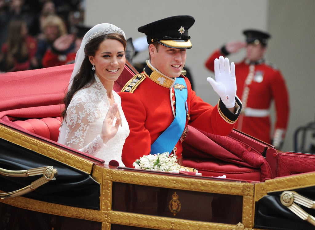 Celebrities at Kate Middleton and Prince William