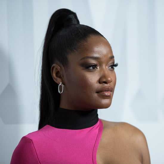 Keke Palmer Shows Off Natural Hair