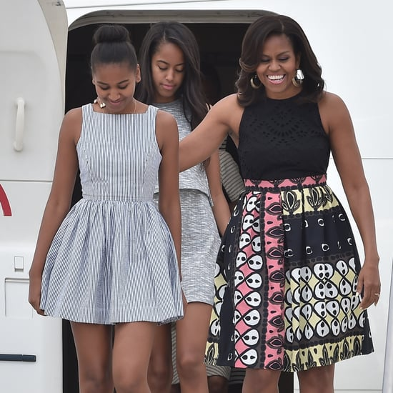 Michelle Obama Talks About Gossiping With Malia and Sasha