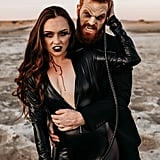 This Vampire-Themed Engagement Shoot Is Sexy and Scary