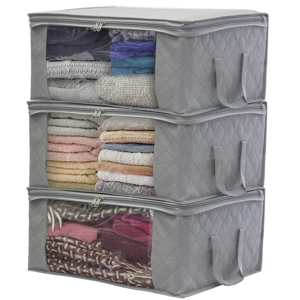 Extra Clothes Storage: Sorbus Foldable Bag Organizers
