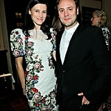 David and Victoria Beckham at CFDA/Vogue Dinner 2012